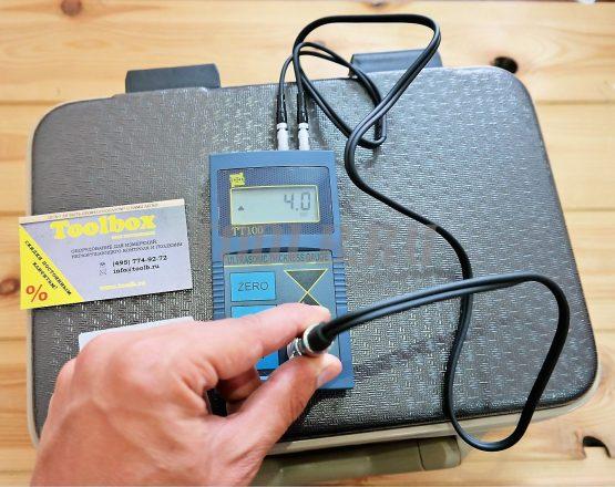 Измерения ультразвуковым толщиномером