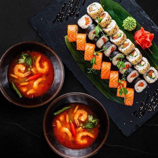 Суши сделанные с опытом и любовью