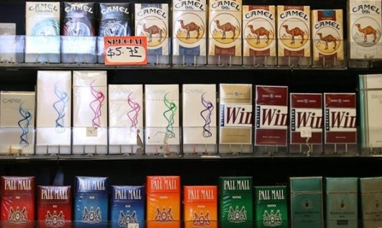 Сигареты американского производства