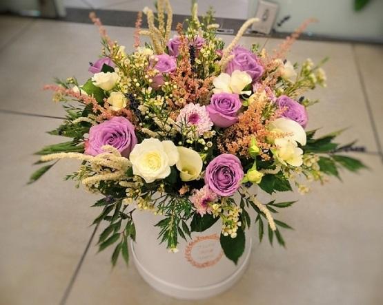 Цветы как оригинальный подарок
